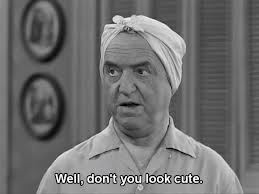 And now a word from William Frawley: