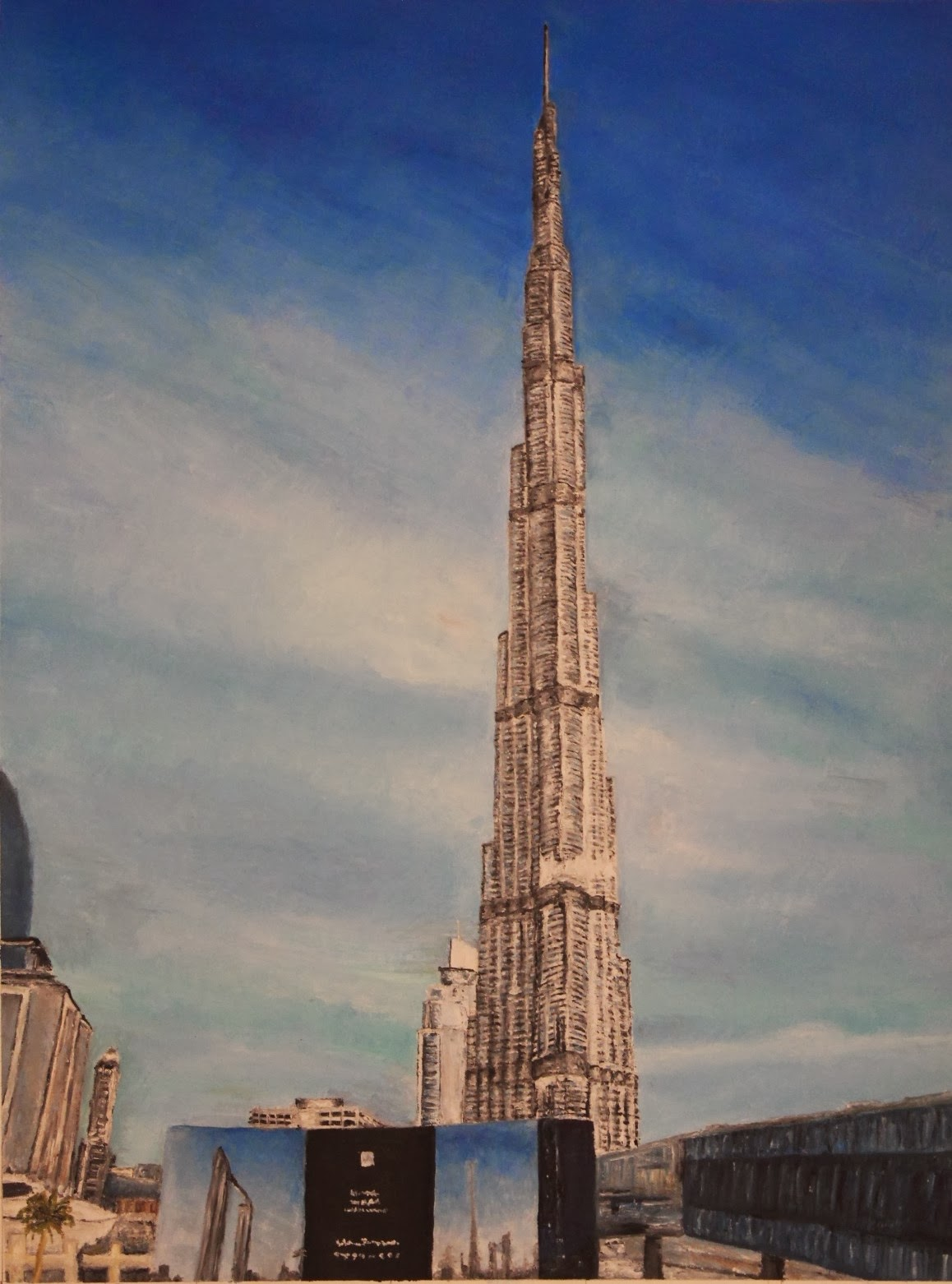 1115139542 manchester school of architecture digital for Burj khalifa sketch