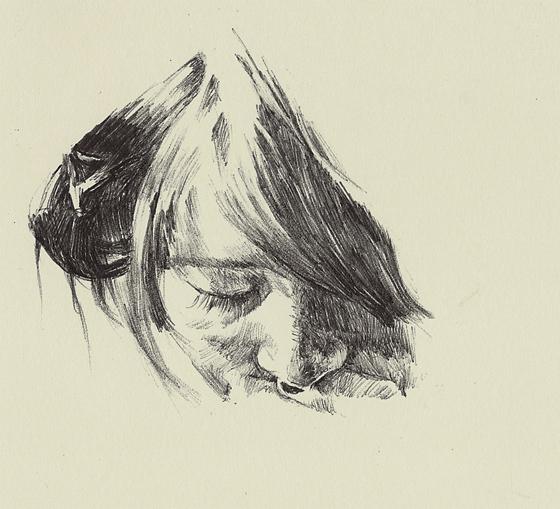 Ballpoint Pen Sketch1