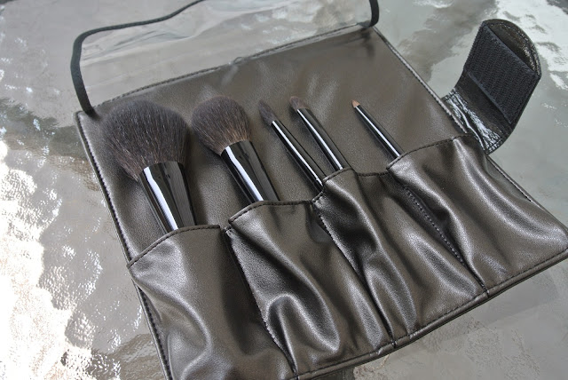 Brush Set in Travel Case