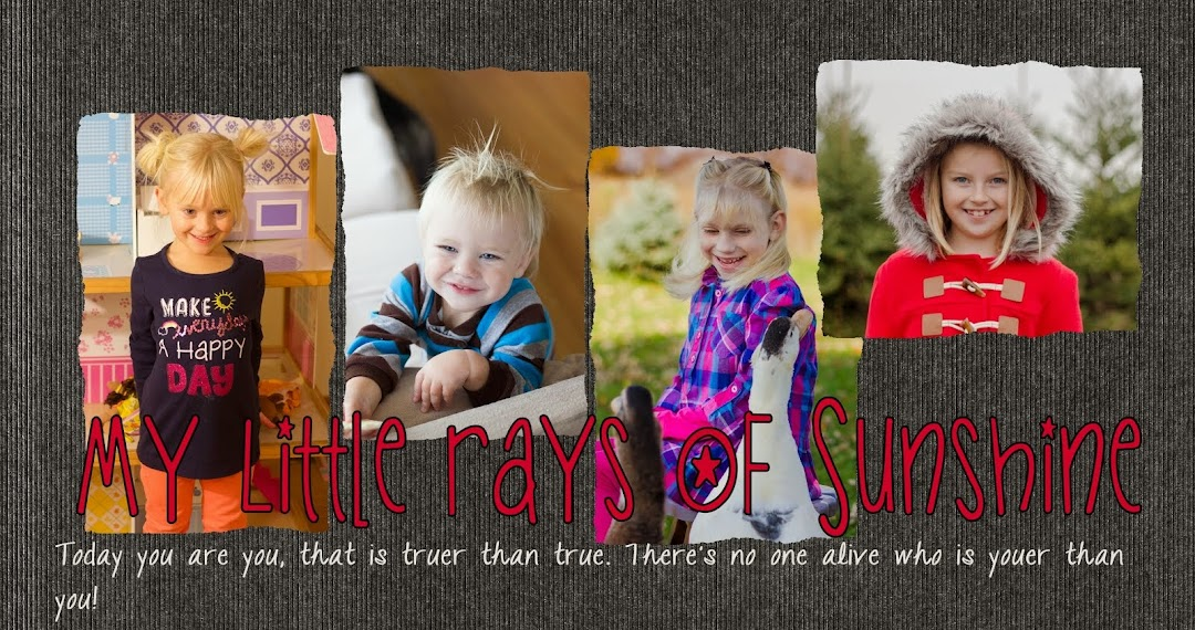 My Little Rays of Sunshine