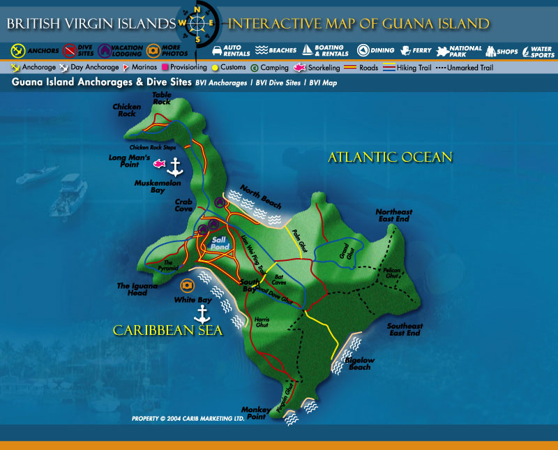 Travelling To The British Virgin Islands