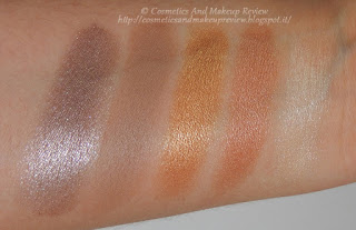 Too Faced - Semi-Sweet Chocolate Bar - swatches terza fila