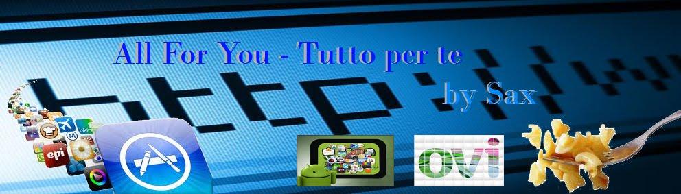 All for You-Tutto per TE