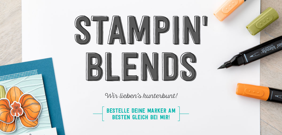 Neu! Stampin' Blends