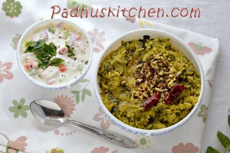 Palak Khichdi