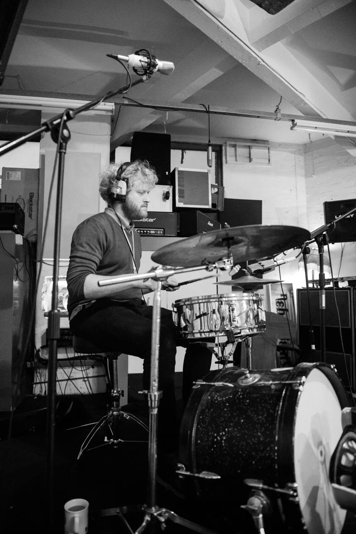 Birmingham recording studio Park Studios JQ | recording drums