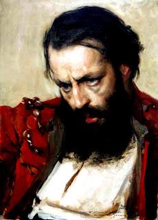 'Don Martín Miguel de Güemes' (c.1910).Retrato del maestro don Antonio Alice (1886-1943) tomado de su biografía visual en museoroca.gov.ar