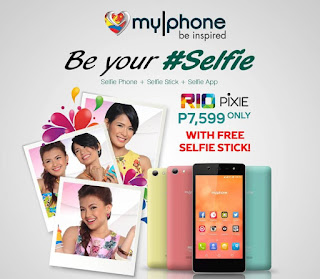 MyPhone RIO Pixie Announced, Selfie-Inspired Android Phone