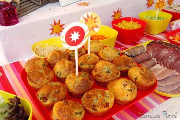 cakes jambon brunch soleil