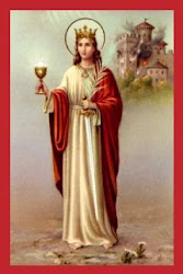 ST. BARBARA, Mighty patroness of the DYING
