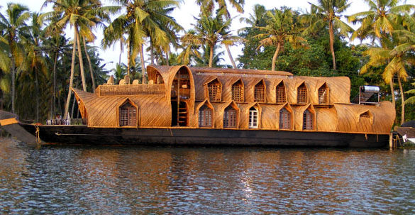 kerala style architecture and a houseboat journey is going to remain ...