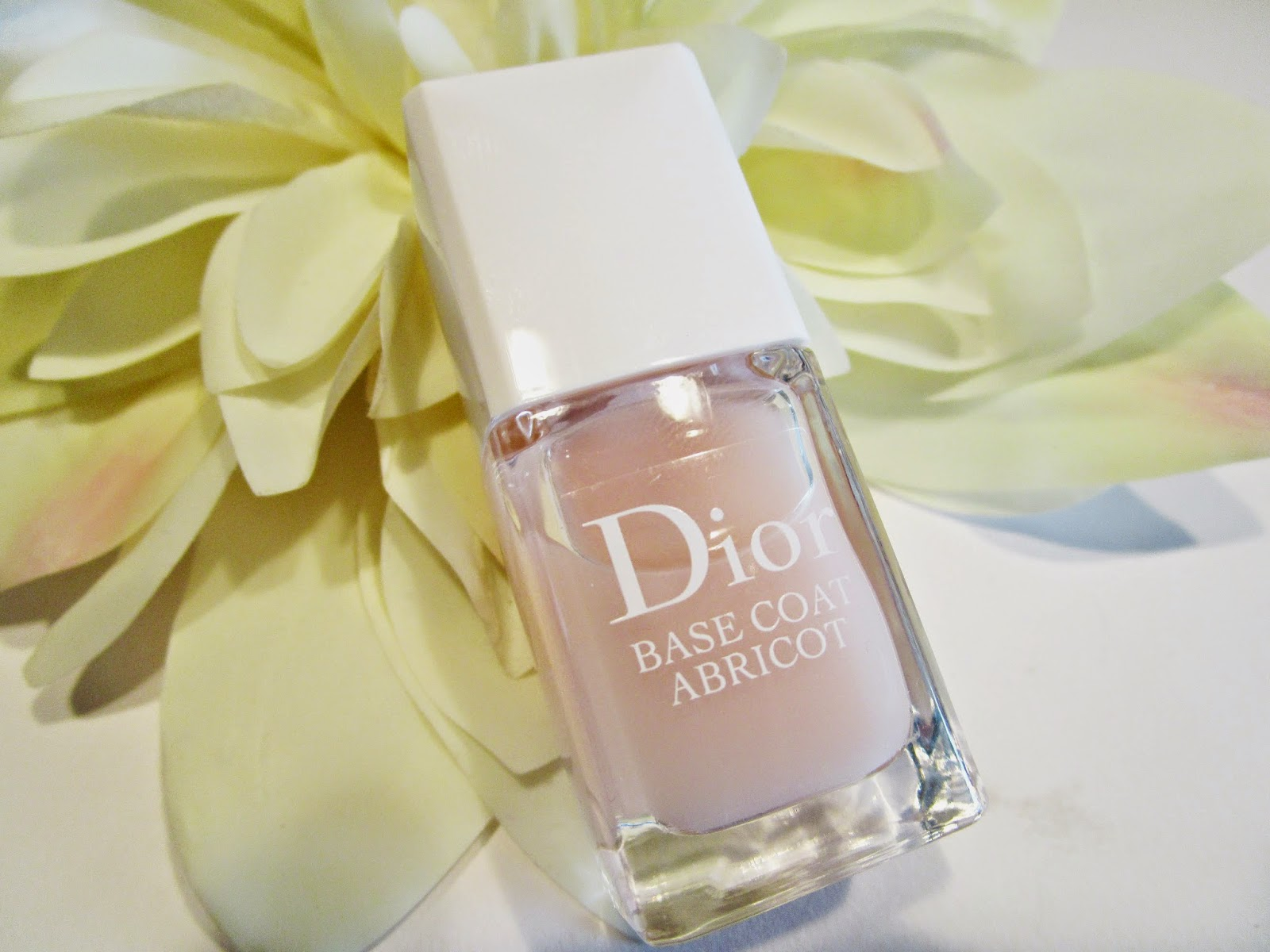 Base Coat Abricot Christian Dior