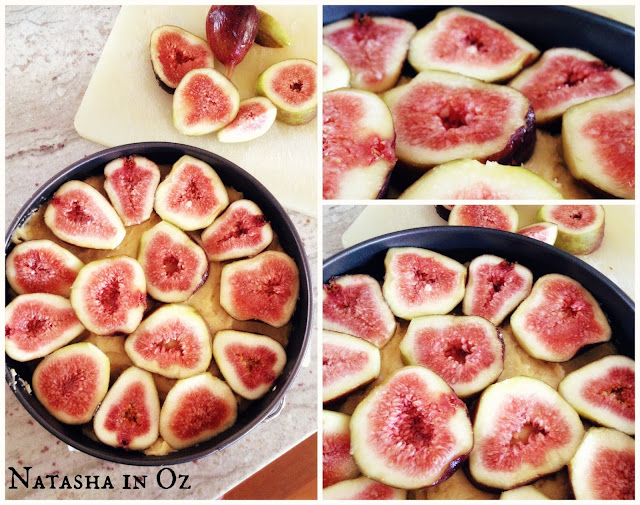 Say G'Day Saturday, Bill Granger's Fig and Hazelnut Cake Recipe, Natasha in Oz, fresh figs image