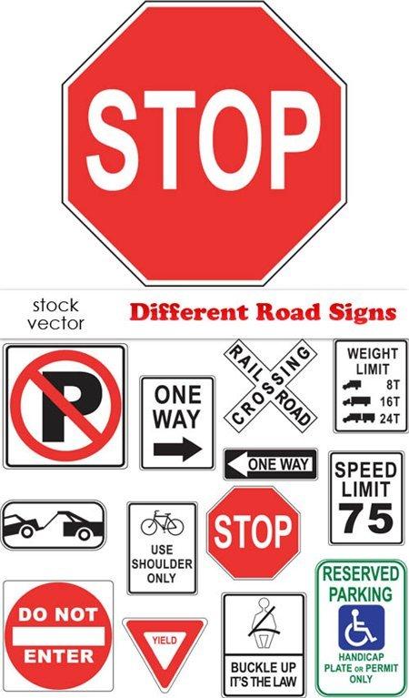 Vectors Rambu Jalan / Road Signs