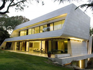 home design latest: European modern exterior homes designs Madrid.