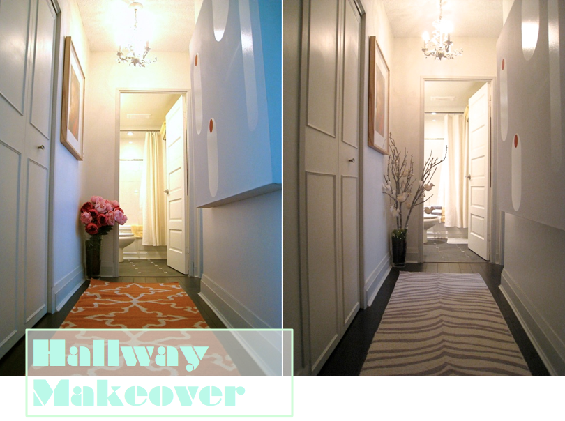 Design Maze: Hallway Makeover: Wallpaper Crush