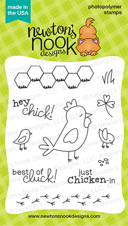 Chicken Scratches 3x4 stamp set by Newton's Nook Designs