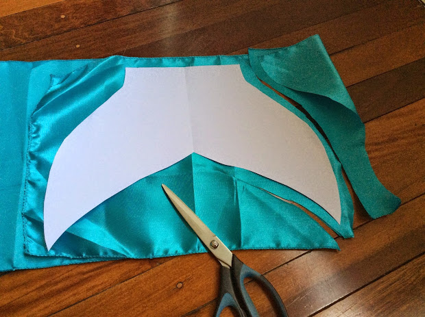 How To Draw A Mermaid Tail Pattern Vtwctr