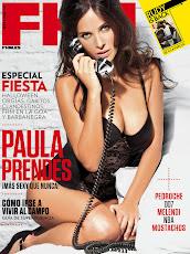 Paula Prendes en FHM 2012