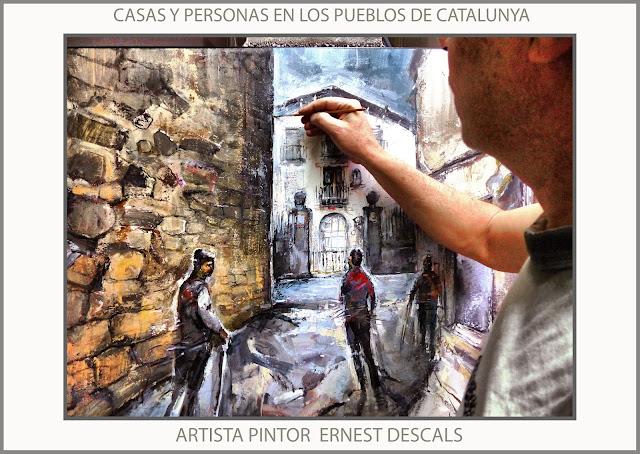 AVIÀ-PINTURA-CASES-PERSONES-PAISATGES-CATALUNYA-POBLES-PINTURES-FOTOS-ARTISTA-PINTOR-ERNEST DESCALS-