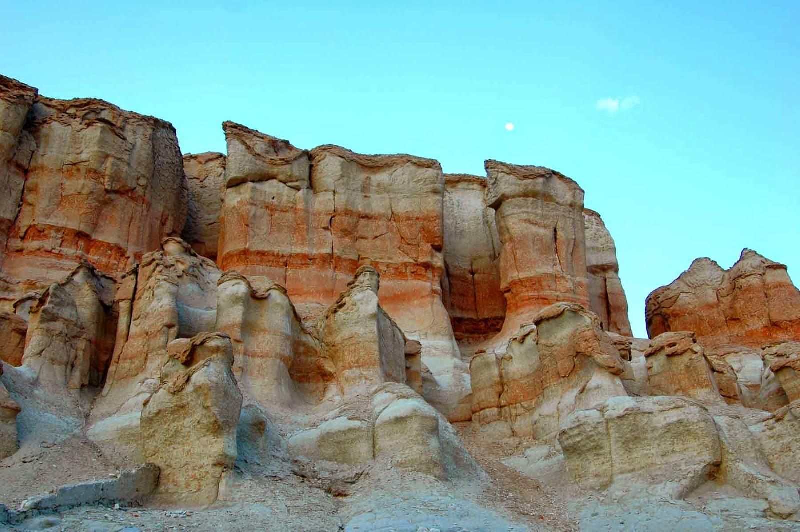 صورة تظهر طبيعة بعض الجبال في المملكة العربية السعودية