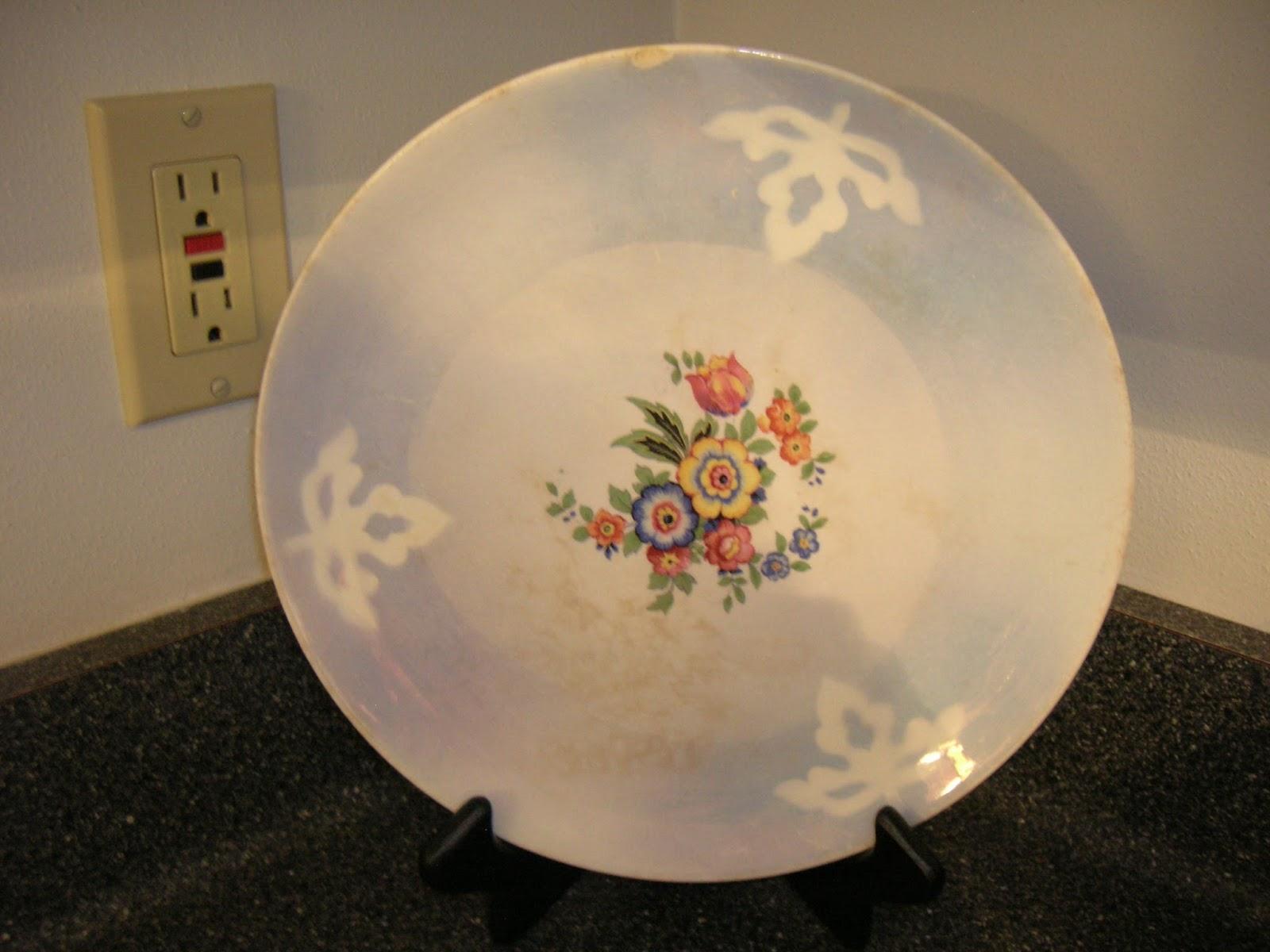 Maison Newton: Old Plate: I Found the Mark!
