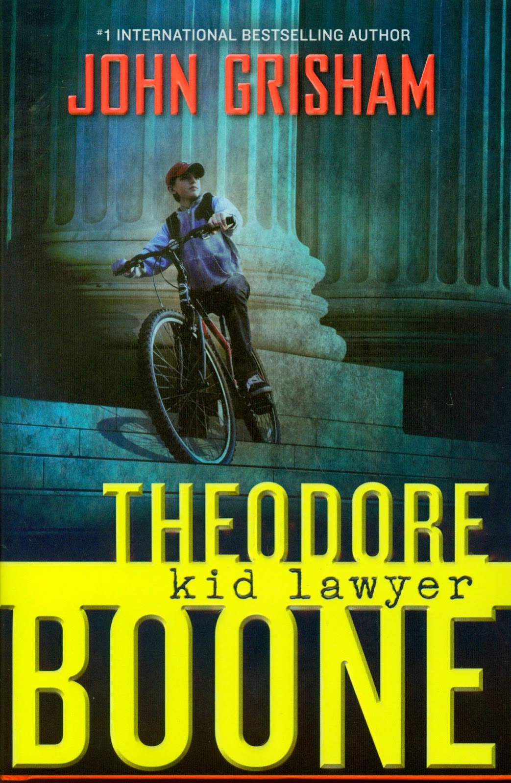 Literary Hoots: Theodore Boone: Kid Lawyer Theodore Boone