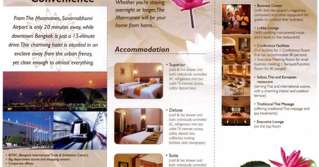 Jumbouey Contoh Hotel Brochure In English
