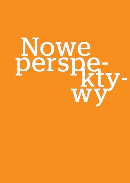 """Okładka książki """"Nowe perspektywy. Nauki społeczne dla gospodarki"""""""