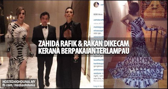 Berpakaian 'Terlampau', Zahida Rafik dan Rakan Dikecam Peminat!..