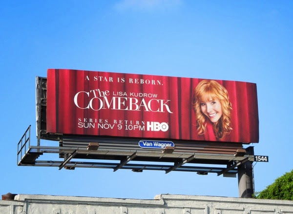 The Comeback season 2 billboard
