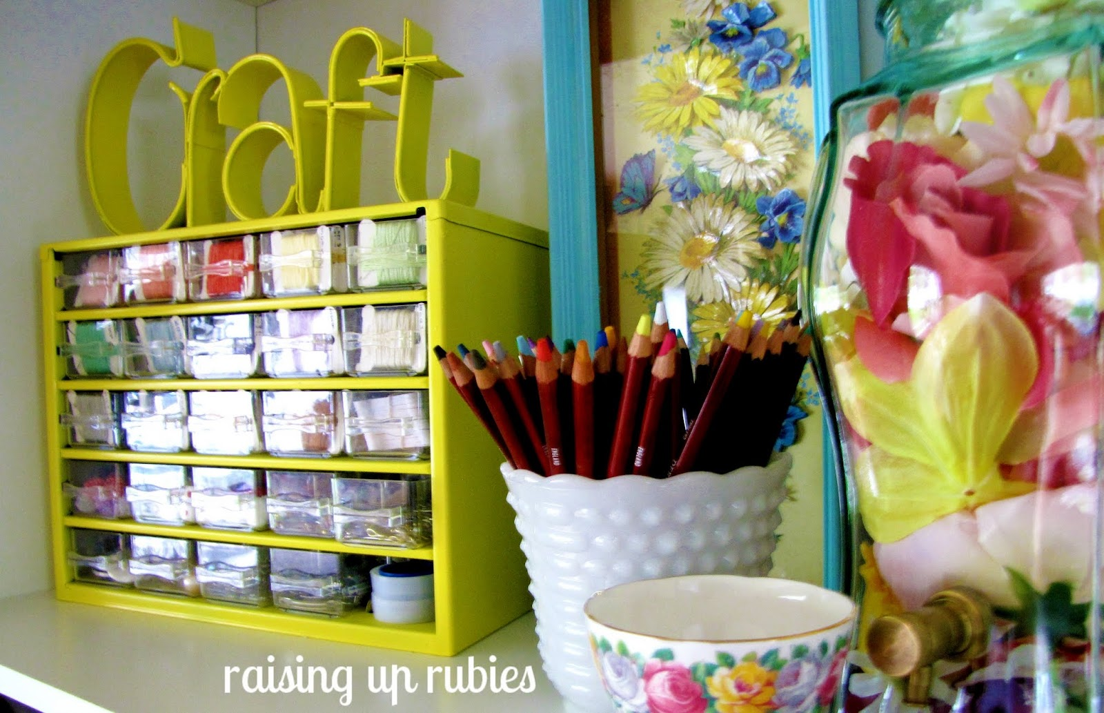 Sewing Room Ideas Organizing For Room To Sew