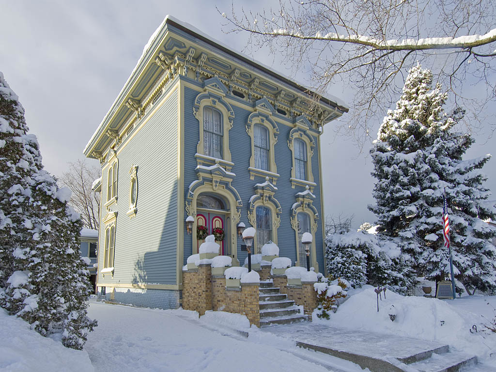 The Picturesque Style Italianate Architecture The Edward