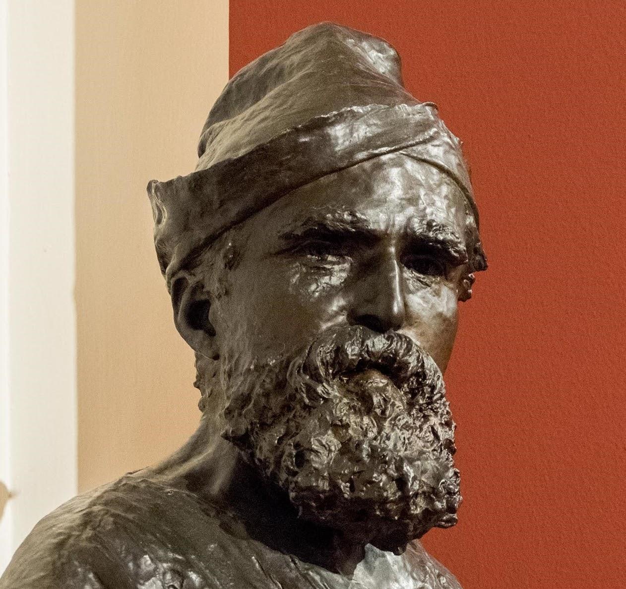 Vincenzo Gemito Ritratto del pittore Domenico Morelli
