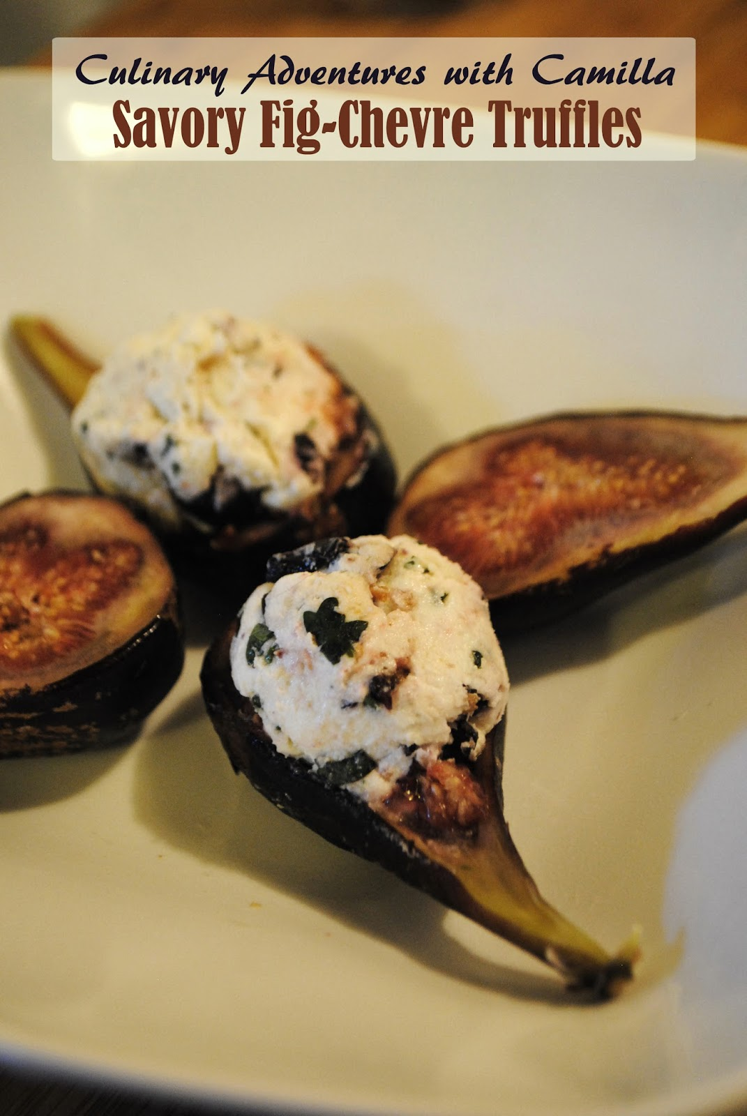 Culinary Adventures with Camilla: SRC: Savory Fig-Chevre ...