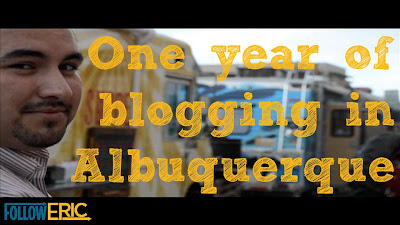 One Year of Blogging in Albuquerque