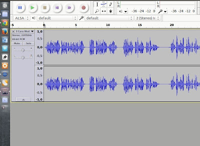 Audacity, Software Pengolah Audio di Ubuntu