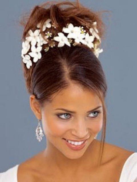 African American Women Wedding Hair Style