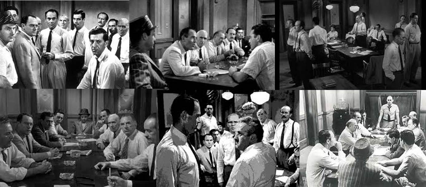 12 angry men evidences Twelve angry men (penguin classics) and millions of other books are available   i love the neutrality of the 8th juror, and how he questions the evidence and.