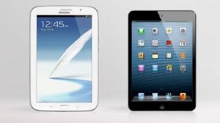 Perbandingan Galaxy Note 8 Dengan iPad Mini
