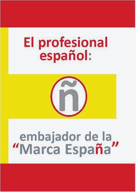 El profesional español, embajador de la marca España