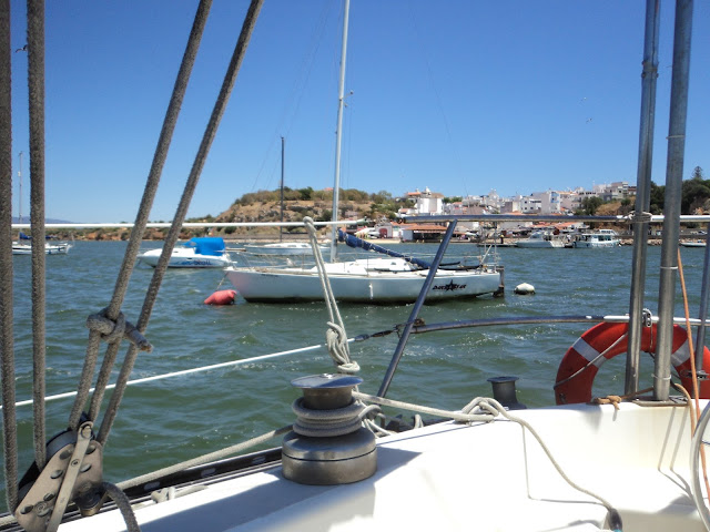 moorings in Alvor