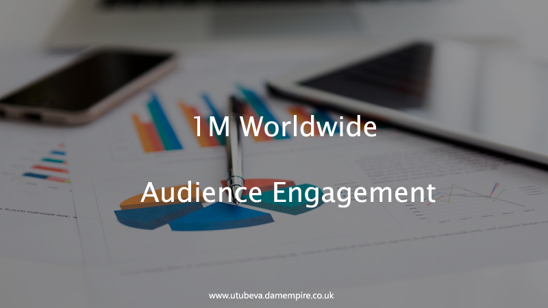 Get 1M YouTube Engagement Worldwide