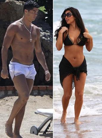 Photobucket: cristiano ronaldo and kim kardashian