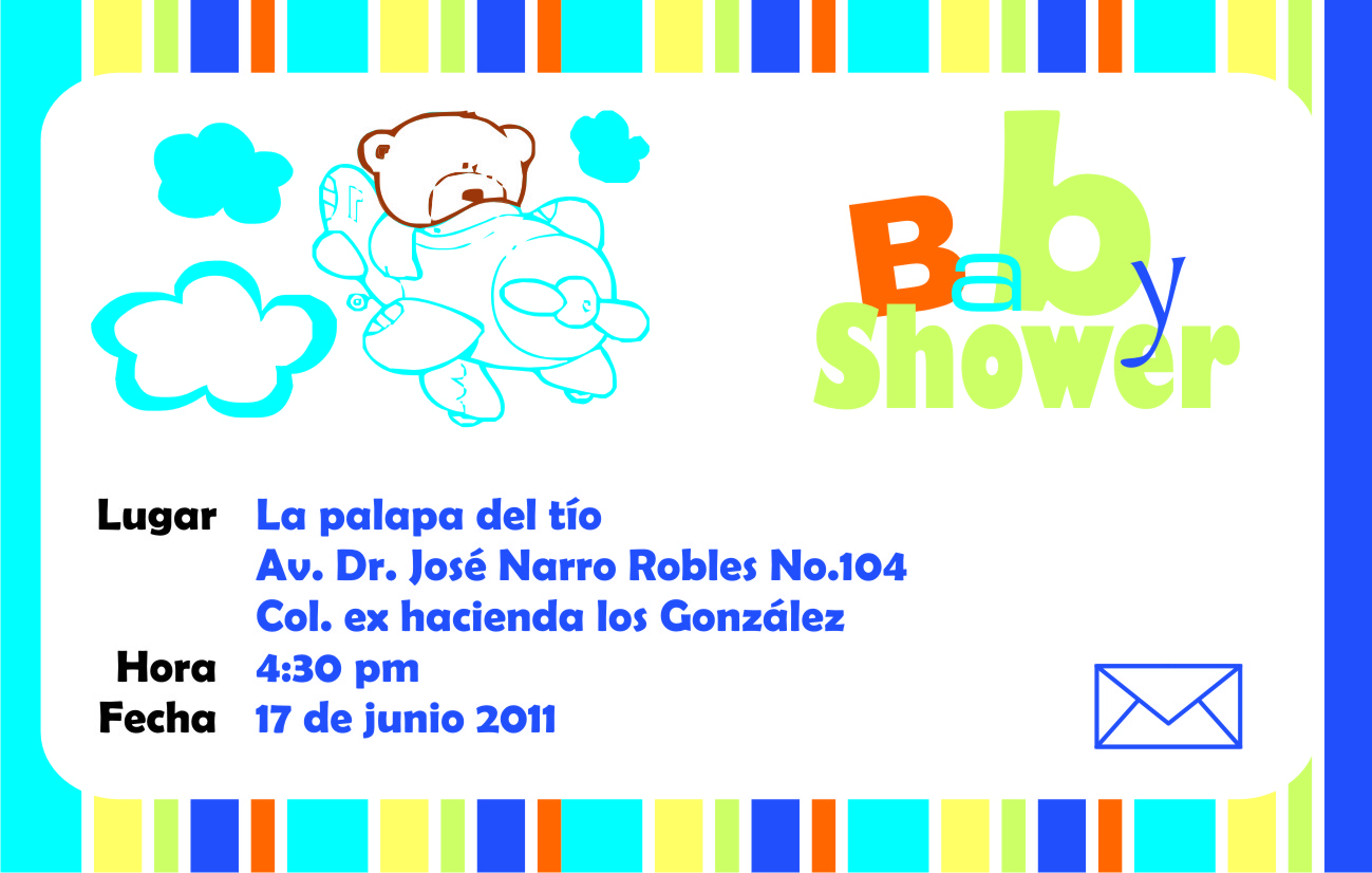 About Printing: Invitaciones Baby Shower
