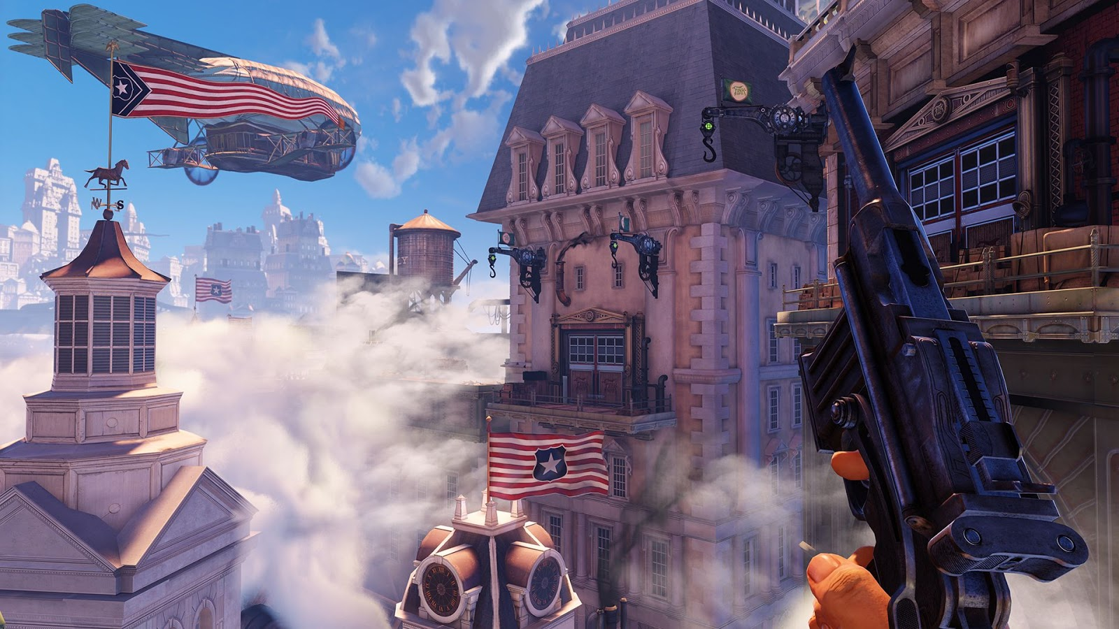 Bioshock Infinite HD & Widescreen Wallpaper 0.74463878576471
