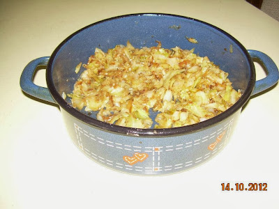 Recept: Kupus sa flekicama (testom)