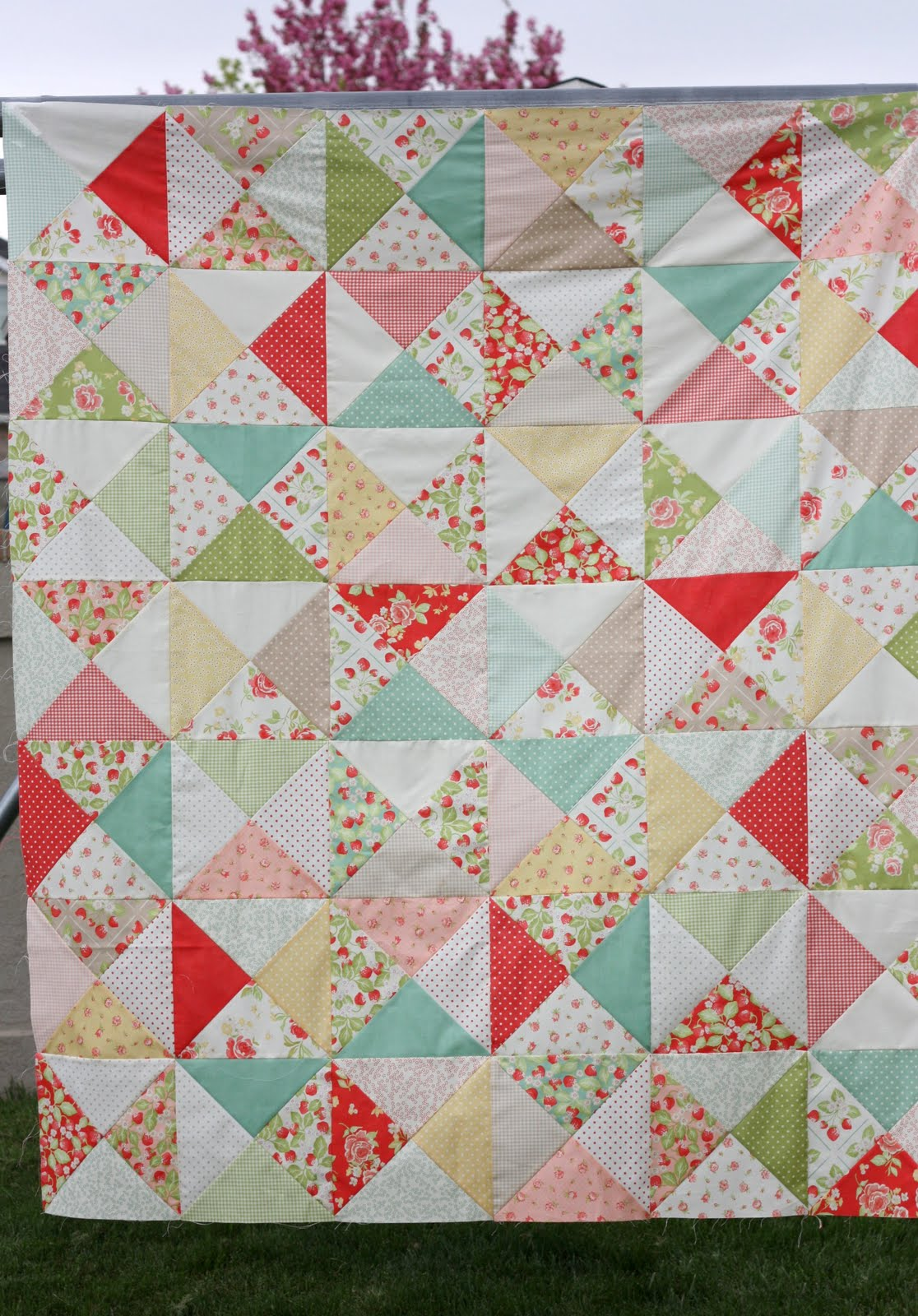 Easy Bricks Quilt Tutorial - Diary of a Quilter