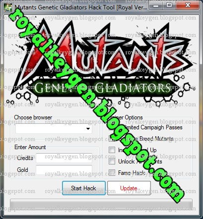 see a full list of features later on. Mutants Genetic Gladiators Hack